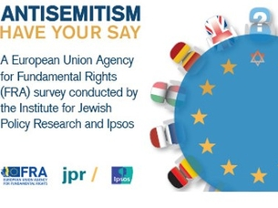 FRA antisemitism survey latest